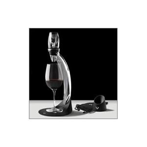Aérateur de vin Vinturi avec sa tour : coffret DELUXE