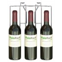 Panier 3 bouteilles de face VisioPlus