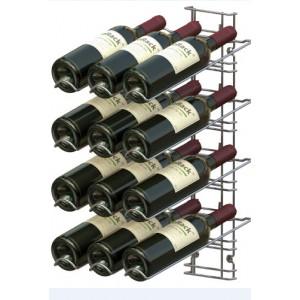 VisioPlus 12 bouteilles en présentation inclinée