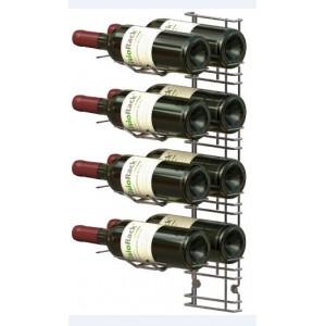 VisioPlan 8 bouteilles en présentation horizontale