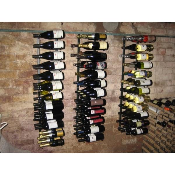 Rack à vin mural pour 27 bouteilles - Vintageview
