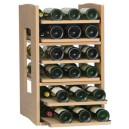 Cavicase élément de base d'une capacité de 36 bouteilles disposées sur des clayettes coulissantes