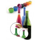2 Bouchons à vin en silicone PULLTEX