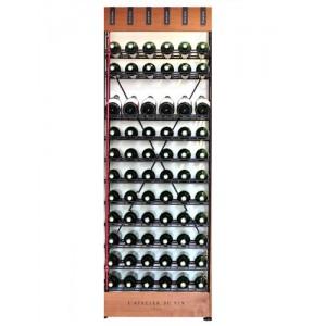Cave SMART - H1(175 cm)  Extension 66 btlles  de L'Atelier du Vin