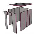 Kit isolation pour cave à vin de 10 m3 - 4 m²