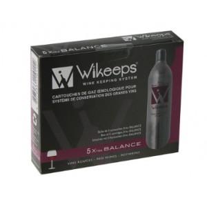 Cartouches Wikeeps pour vins rouges ( lot de 5 )
