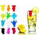 Set de 8 Marque-Verre People Party  Vacu vin