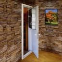 Porte de cave avec climatiseur intégré PC15 - version 2016 - FONDIS