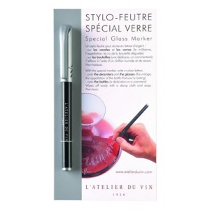 Stylo-Feutre spécial verre de l'Atelier du vin