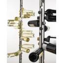 Tube en inox 44 bouteilles rangées en spirale - Vinox concept