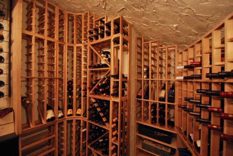 Amenagement Cave Rangement. Trendy Cuisine Art Et Bois Agencement De ...